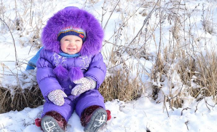 Pour protéger bébé pendant l'hiver