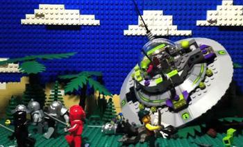Uiterlijk speelgoed Lego afgelopen jaren steeds gewelddadiger