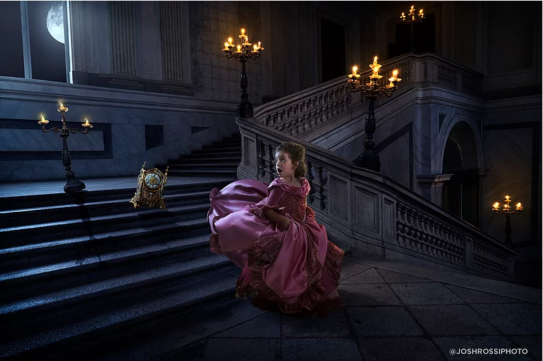 Belle en het Beest fotoshoot © Josh Rossi
