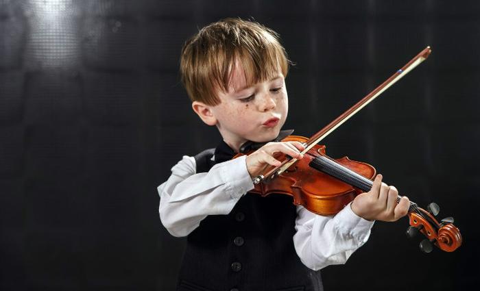 Eveil musical chez l'enfant