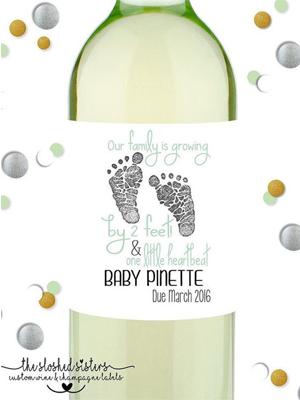 wijnfles-baby-op-komst