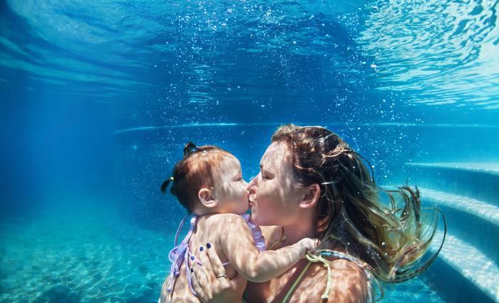 Bébé nageur, quels bienfaits?
