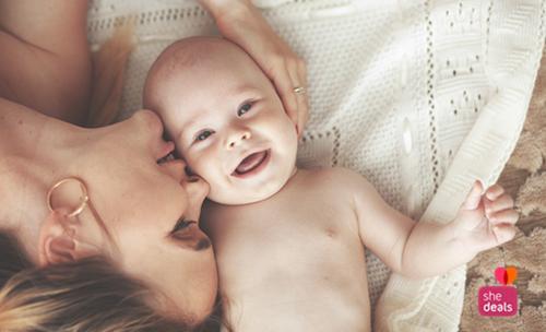 Shedeals babyboek actie uitgeverij Clavis