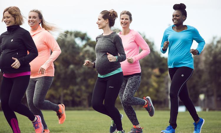 Sporten tijdens zwangerschap