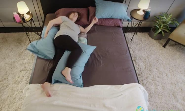 Zo slaap je als een baby, als je zwanger bent
