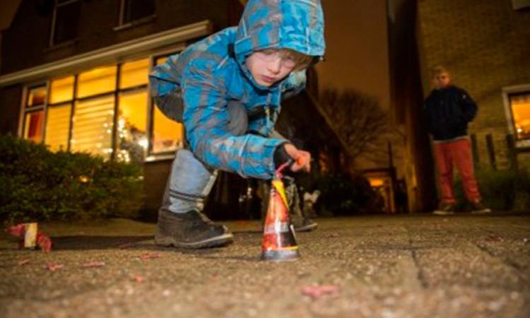 Gratis vuurwerkbrillen voor kinderen