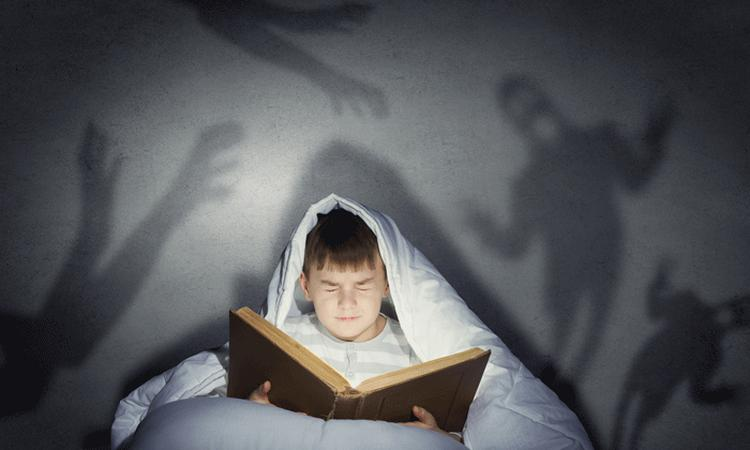 Onderzoek: 'griezelig boek is wél goed voor kind'