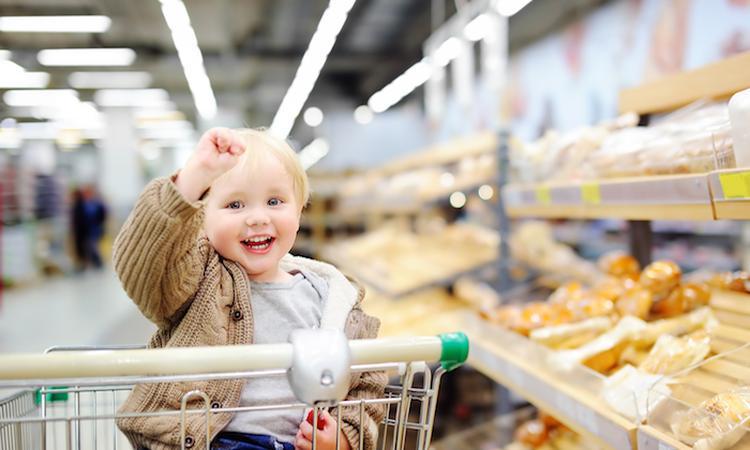 Boodschappen doen met kinderen: zó blijft het leuk