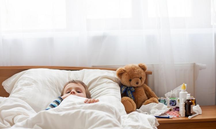 De vijfde ziekte bij baby of kind