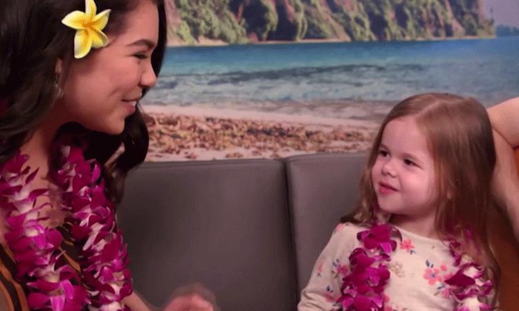 Vertederend: 4-jarige Disney-fan zingt duet met 'Moana'