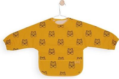 Jollein Slabbetje - Waterproof - Met Mouw - Tiger mustard
