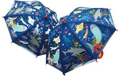 Regen items kleurveranderende paraplu