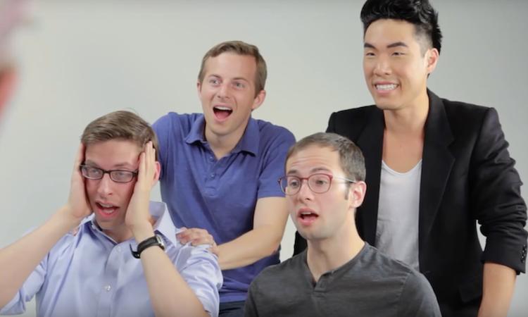 De Try Guys ervaren hoe weeën voelen