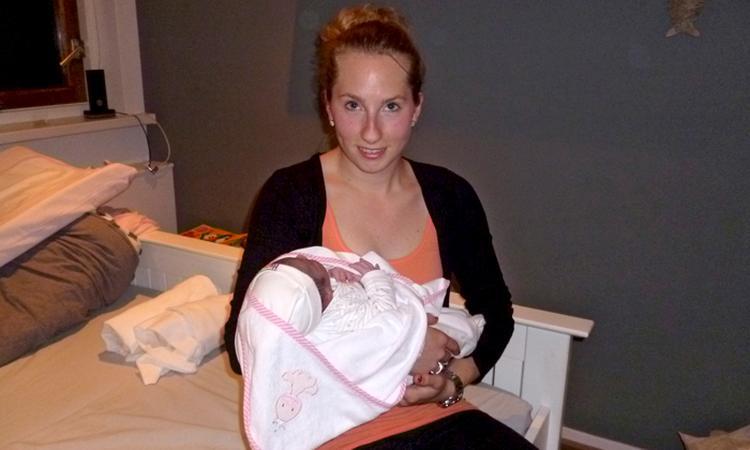 Bevallingsverhaal: 'Ik hou het niet meer: ik moet persen'