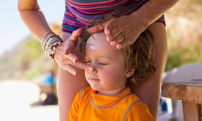 Welke zonnebrand voor baby en kind?