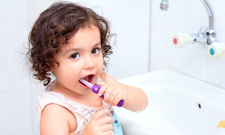 Tandenpoetsen peuter
