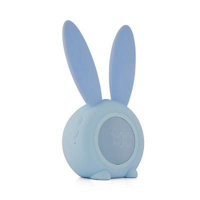 Slaapwekker konijnenoren blauw