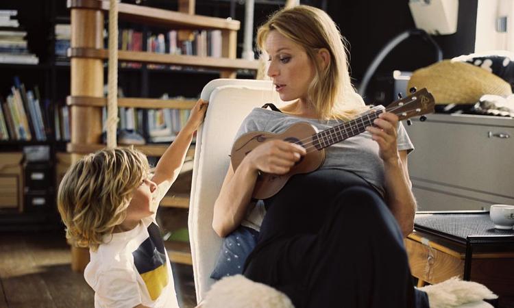 Op tour met Eddie Vedder terwijl je 34 weken zwanger bent