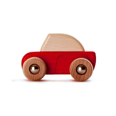bajo terugtrek auto rood