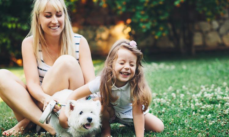 Bewezen: hond kan stress bij kind verminderen