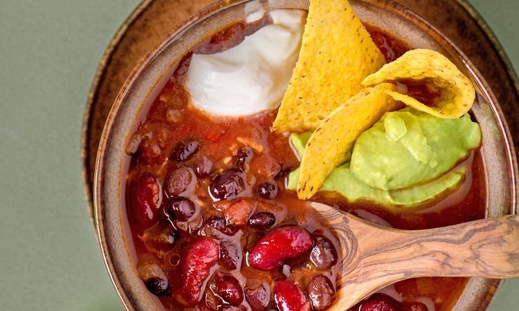 Recept vegan Mexicaanse tacosoep