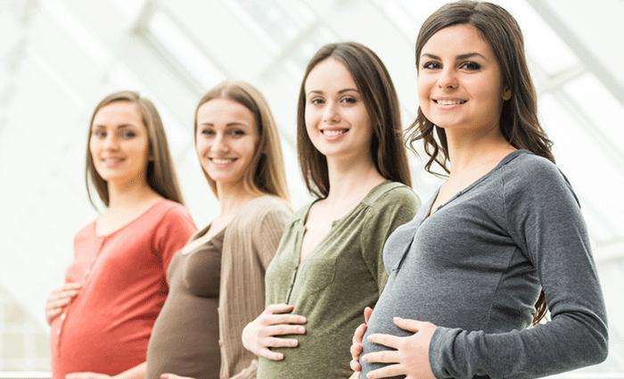 zussen zwanger