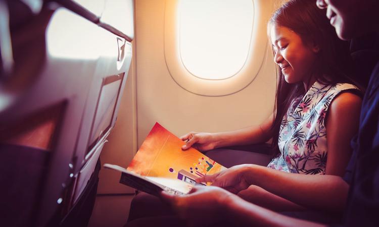 Stressvrij vliegen met kinderen