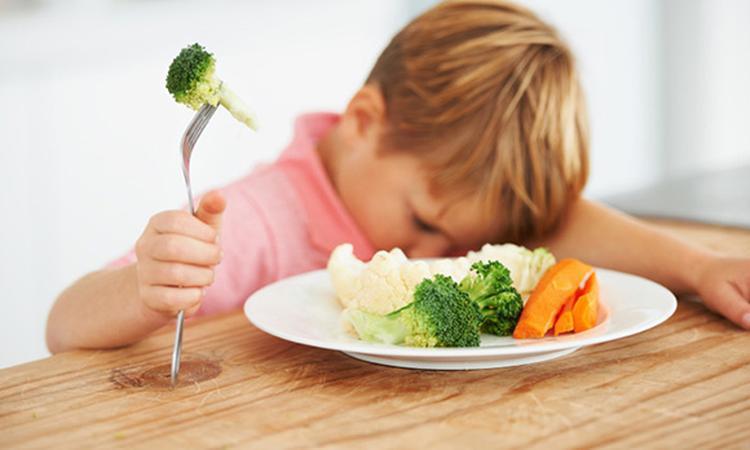 Kieskeurige eter: fase die voorbij gaat?