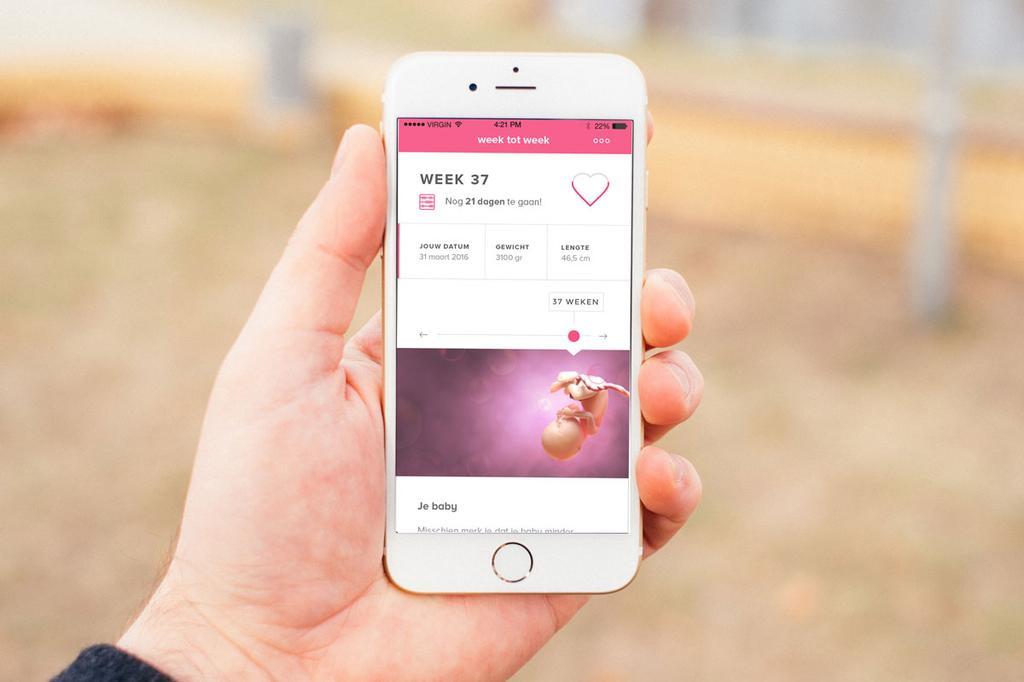 Zwanger & Baby app