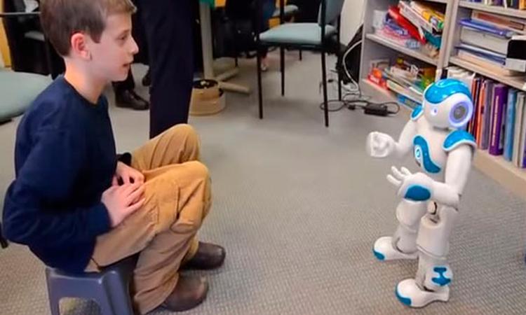 Robot helpt kinderen met autisme