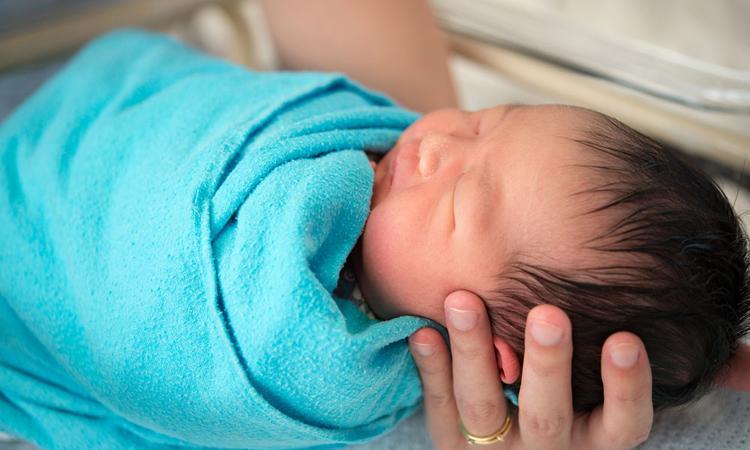 baby geboren