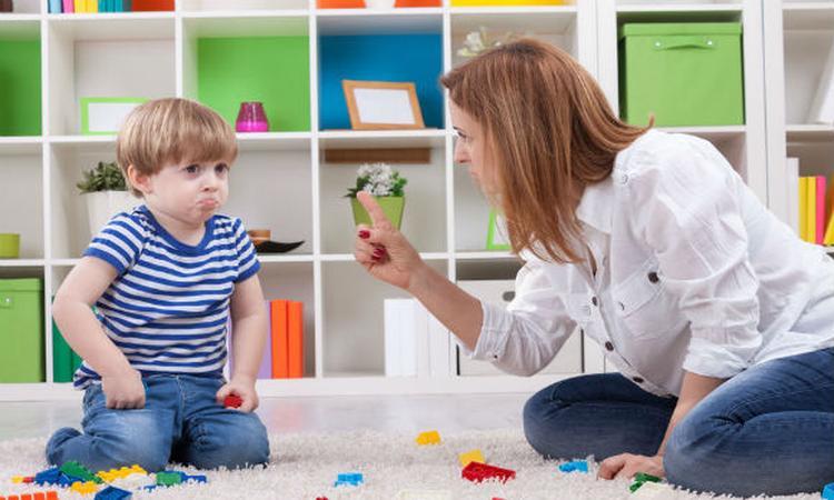 Nee zeggen tegen je kind, waarom het niet werkt