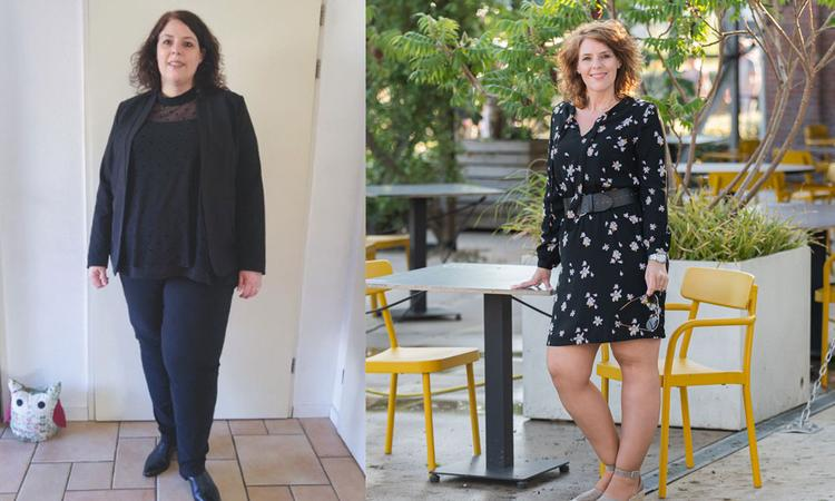 Rosalie viel 48 kilo af: 'Ik kon niet met mijn kinderen buitenspelen'