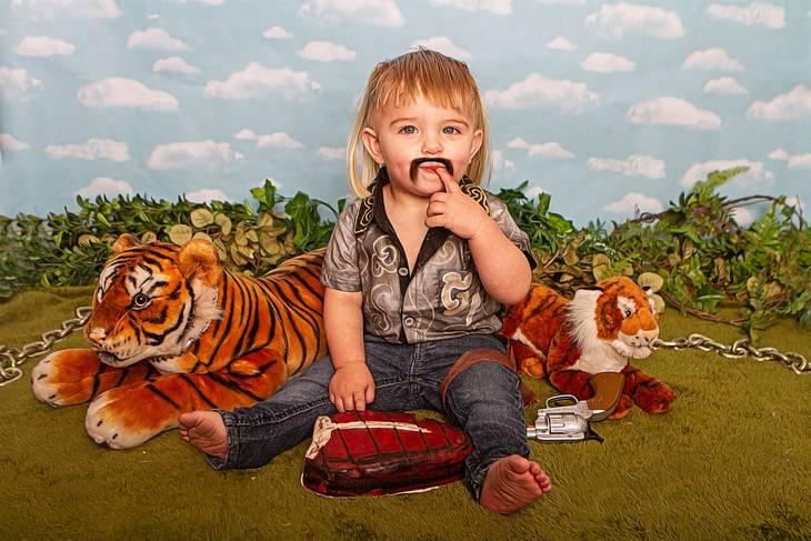 Tiger King fotoshoot