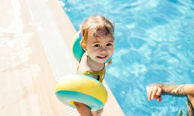 Peuterzwemmen: je kind watervrij maken