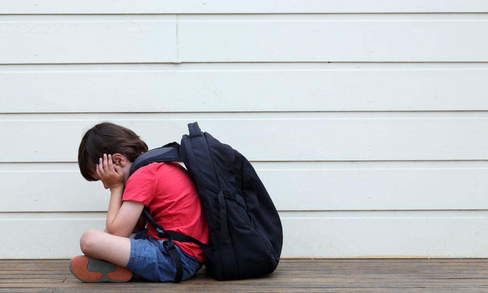 kind 5 jaar wil niet naar school