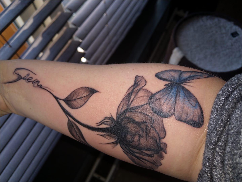tattoo voor je kind zetten