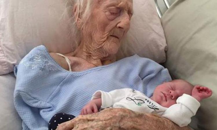 Bijzonder: 101 jaar leeftijdsverschil