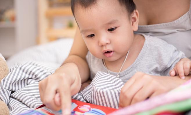 Je baby voorlezen: zo doe je dat