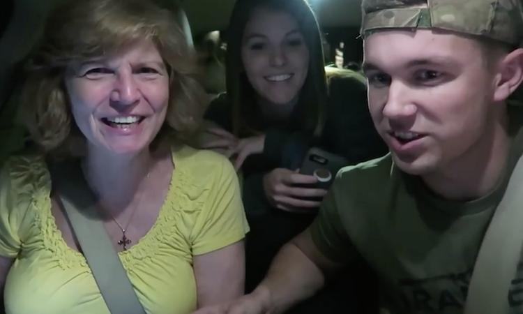 Navigatie vertelt vrouw dat ze oma wordt