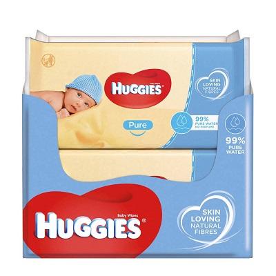 huggies babydoekjes pure 18x56 stuks