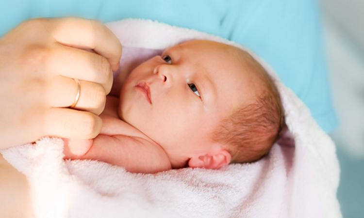 Pasgeboren baby: de eerste 30 minuten