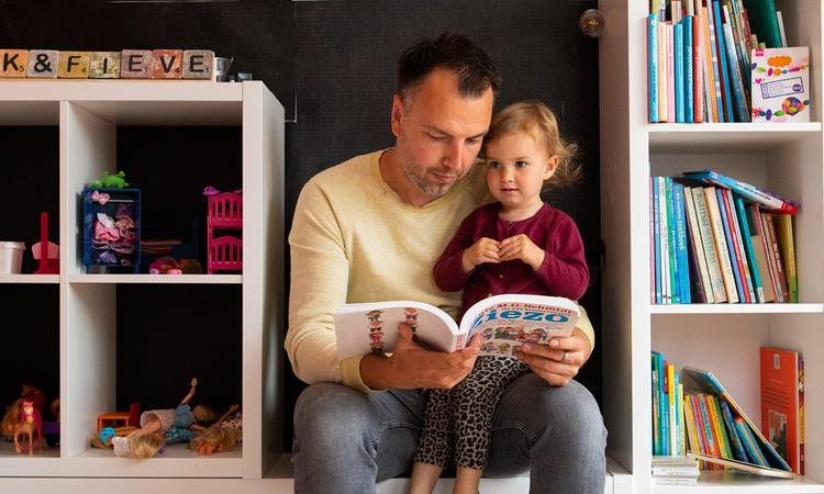 Vaderliefde: 'Een meisje krijgen, was mijn grootste angst'