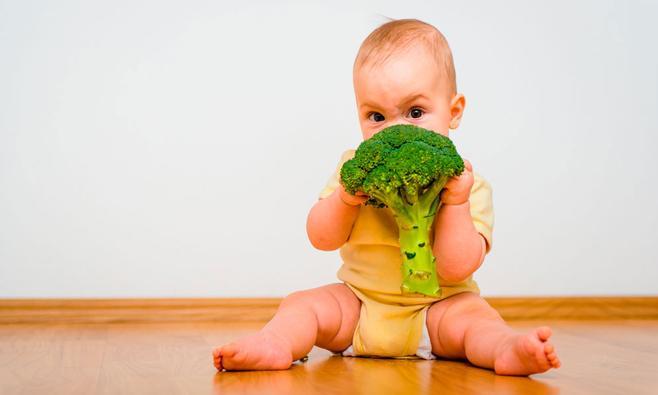 Kind (meer) groente laten eten