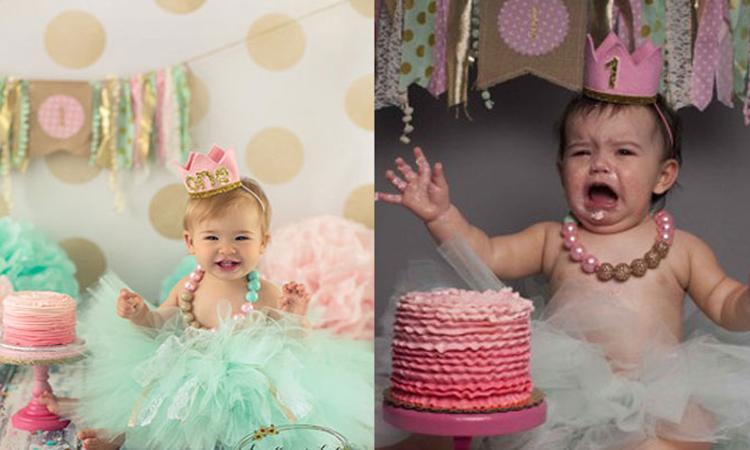 Verwachting vs. realiteit: 10x 'geflopte' fotoshoots met baby's