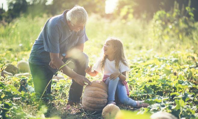 Ode aan al die lieve opa's en oma's
