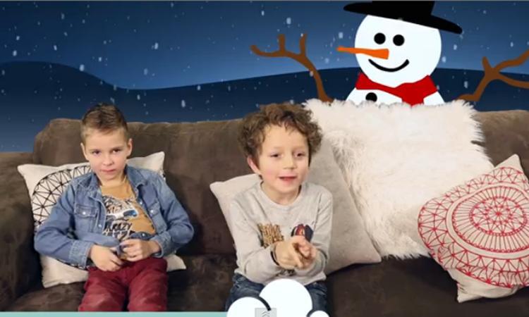Kids over Kerst