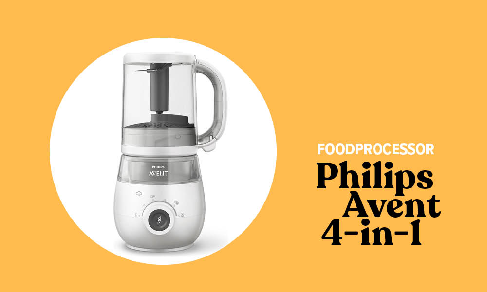 Review Content_Philips Avent 4-in-1 baby foodprocessor