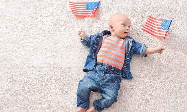 De populairste babynamen in Amerika van 2018 (tot nu toe)