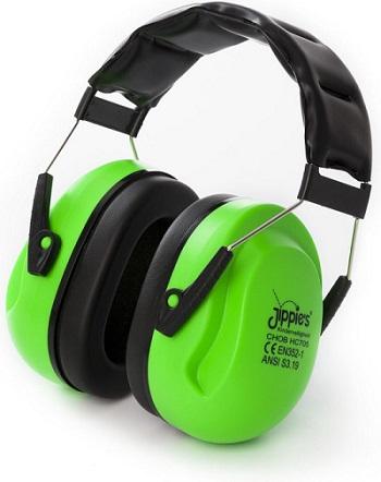 Jippie's - Gehoorbescherming Kinderen - XL - Groen